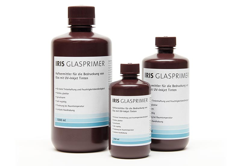 iris glass primer special primer for printing flat glass with uv